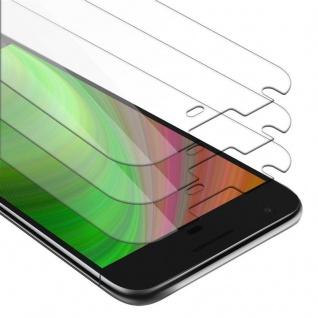 Cadorabo 3x Panzer Folie für Google Pixel XL - Schutzfolie in KRISTALL KLAR - 3er Pack Gehärtetes (Tempered) Display-Schutzglas in 9H Härte mit 3D Touch Kompatibilität