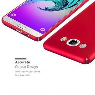 Cadorabo Hülle für Samsung Galaxy J7 2016 in METALL ROT ? Hardcase Handyhülle aus Plastik gegen Kratzer und Stöße ? Schutzhülle Bumper Ultra Slim Back Case Hard Cover - Vorschau 3