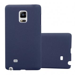Cadorabo Hülle für Samsung Galaxy NOTE EDGE in FROSTY BLAU - Hardcase Handyhülle aus Plastik gegen Kratzer und Stöße - Schutzhülle Bumper Ultra Slim Back Case Hard Cover