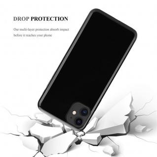 Cadorabo Hülle für Apple iPhone 11 (XI) in SCHWARZ - Handyhülle aus flexiblem TPU Silikon - Silikonhülle Schutzhülle Ultra Slim Soft Back Cover Case Bumper - Vorschau 3
