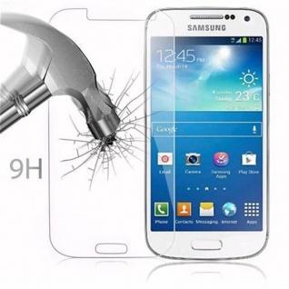Cadorabo Panzer Folie für Samsung Galaxy S4 MINI - Schutzfolie in KRISTALL KLAR - Gehärtetes (Tempered) Display-Schutzglas in 9H Härte mit 3D Touch Kompatibilität - Vorschau 3