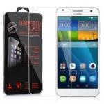 Cadorabo Panzerglas für Huawei G7 - Schutzfolie in KRISTALL KLAR ? Gehärtetes (Tempered) Display-Schutzglas in 9H Härte mit 3D Touch Kompatibilität