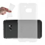 Cadorabo Hülle für HTC 10 - Hülle in VOLL TRANSPARENT - Handyhülle aus TPU Silikon im Ultra Slim 'AIR' Design - Silikonhülle Schutzhülle Soft Back Cover Case Bumper