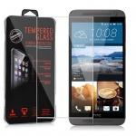Cadorabo Panzerglas für HTC ONE E9 - Schutzfolie in KRISTALL KLAR ? Gehärtetes (Tempered) Display-Schutzglas in 9H Härte mit 3D Touch Kompatibilität