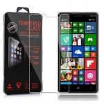 Cadorabo Panzerglas für Nokia Lumia 830 - Schutzfolie in KRISTALL KLAR ? Gehärtetes (Tempered) Display-Schutzglas in 9H Härte mit 3D Touch Kompatibilität