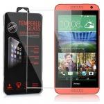 Cadorabo Panzerglas für HTC DESIRE 610 - Schutzfolie in KRISTALL KLAR ? Gehärtetes (Tempered) Display-Schutzglas in 9H Härte mit 3D Touch Kompatibilität