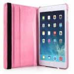 Cadorabo - Apple iPad AIR (5. Generation) Schutzhülle im Book Style mit 360° Standfunktion - Case Cover Bumper in BLÜTEN ROSA