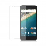 Cadorabo Panzerglas für LG Google NEXUS 5X - Schutzfolie in KRISTALL KLAR ? Gehärtetes (Tempered) Display-Schutzglas in 9H Härte mit 3D Touch Kompatibilität