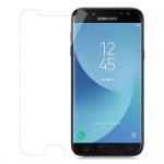 Cadorabo Panzerglas für Samsung Galaxy J7 2017 (7) - Schutzfolie in KRISTALL KLAR ? Gehärtetes (Tempered) Display-Schutzglas in 9H Härte mit 3D Touch Kompatibilität