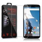 Cadorabo Panzerglas für Motorola Google NEXUS 6 / 6X - Schutzfolie in KRISTALL KLAR ? Gehärtetes (Tempered) Display-Schutzglas in 9H Härte mit 3D Touch Kompatibilität