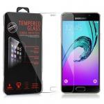 Cadorabo Panzer Folie für Samsung Galaxy A3 2016 (6) - Schutzfolie in KRISTALL KLAR - Gehärtetes (Tempered) Display-Schutzglas in 9H Härte mit 3D Touch Glas Kompatibilität