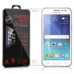 Cadorabo Panzer Folie für Samsung Galaxy J2 2016 (6) - Schutzfolie in KRISTALL KLAR - Gehärtetes (Tempered) Display-Schutzglas in 9H Härte mit 3D Touch Glas Kompatibilität