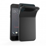 Cadorabo Hülle für HTC Desire 10 LIFESTYLE / Desire 825 - Hülle in SCHWARZ - Handyhülle aus TPU Silikon im Ultra Slim 'AIR' Design - Silikonhülle Schutzhülle Soft Back Cover Case Bumper