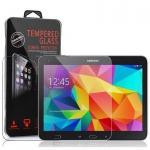 Cadorabo Panzer Folie für Samsung Galaxy Tab 4 (10, 1 Zoll) - Schutzfolie in KRISTALL KLAR - Gehärtetes (Tempered) Display-Schutzglas in 9H Härte mit 3D Touch Kompatibilität