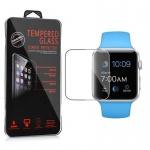 Cadorabo Panzerglas für Apple Watch Series 1 & 2 38mm - Schutzfolie in KRISTALL KLAR â€? Gehärtetes (Tempered) Display-Schutzglas in 9H Härte mit 3D Touch Kompatibilität