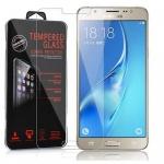 Cadorabo Panzer Folie für Samsung Galaxy J5 2016 (6) - Schutzfolie in KRISTALL KLAR - Gehärtetes (Tempered) Display-Schutzglas in 9H Härte mit 3D Touch Glas Kompatibilität