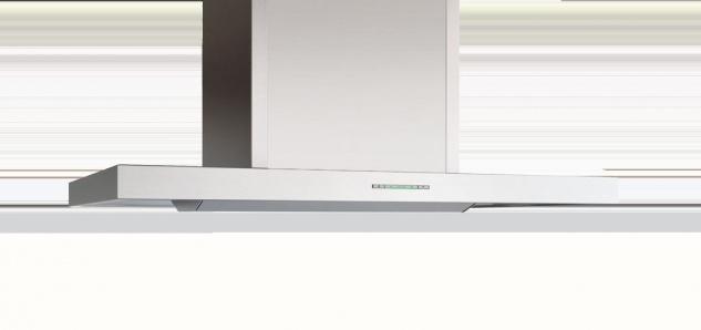 BERBEL Inselhaube Smartline BIH-90-ST, Breite 90cm