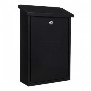 Edelstahl Briefkasten Design Mailbox Parma anthrazit