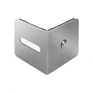 Edelstahl Design Klingelelement EDGE 90°