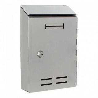 Briefkasten Design Mailbox Standard I silber