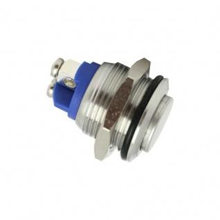 Klingeltaster Drucktaster 16mm Durchmesser mit 2 Schraubkontakten
