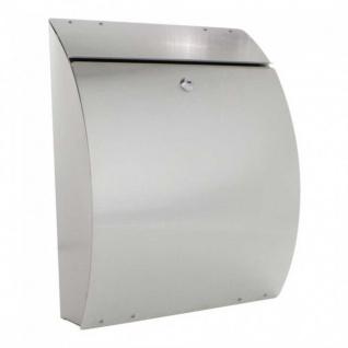 Edelstahl Briefkasten Mailbox Zeitungsbox Briefbox Eleganza