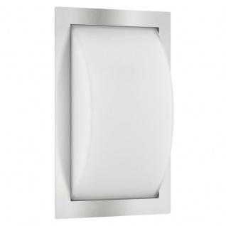 LCD Wandleuchte LED mit Bewegungsmelder Edelstahl Typ 050LEDSEN 13 Watt