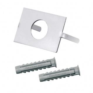 Bolzenplatte zur Befestigung von Klingelplatten mit 19mm Taster