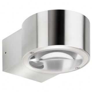 LCD Up & Down Wandleuchte Edelstahl Typ 027 60 Watt