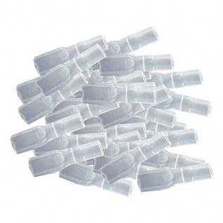 Isolierhülsen für Flachsteckhülsen 100 Stück 28mm 05 15mm² unisoliert SPARPACK