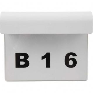 LED Hausnummer Hausnummernleuchte inklusive Zahlensatz