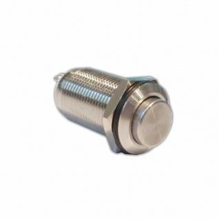 Klingeltaster Drucktaster 12mm Durchmesser 1polig 36V DC2 A