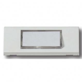 Klingelplatte aus Kunststoff Türklingel für Aufputz Montage mit Beleuchtung