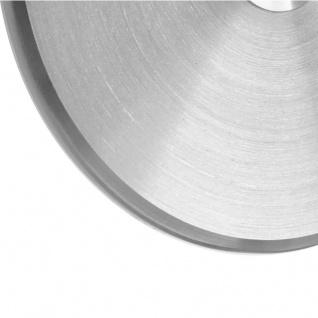 Edelstahl Türklingel massiv 100mm Durchmesser mit umlaufender Fase - Vorschau 2