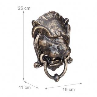 Türklopfer antik Löwe majestätischer Löwenkopf - Vorschau 2