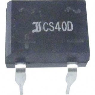 Brückengleichrichter DIL-4 80 V 1 A Einphasig
