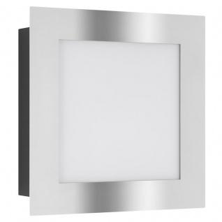LCD Wandleuchte Edelstahl/Schwarz Typ 3005 75 Watt