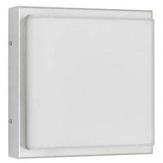 LCD Wandleuchte LED mit Bewegungsmelder Edelstahl Typ 046LEDSEN 13 Watt