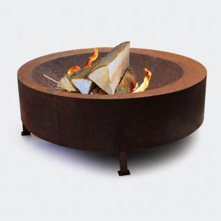 Feuerschale V4 Feuerstelle Feuerkorb Terrassenfeuer Gartenfeuer Feuer