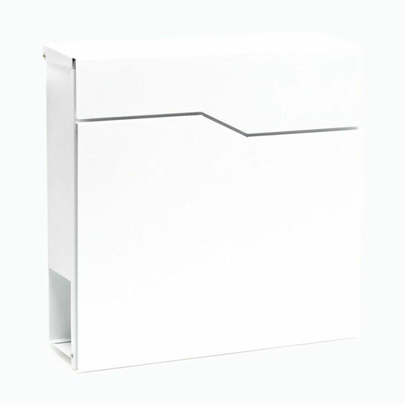 briefkasten wei wandbriefkasten postkasten bad t lz kaufen bei t rklingel shop. Black Bedroom Furniture Sets. Home Design Ideas