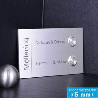 Türklingel Mehrfamilienhaus 140x90mm in Premium Qualität