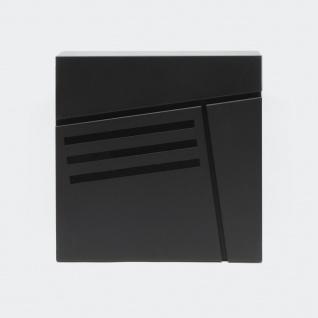Briefkasten Schwarz Wandbriefkasten Postkasten Wetzlar