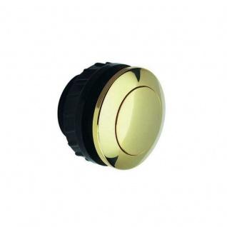Klingelknopf Klingeltaster Taster flach 1fach Grothe Messing vergoldet 12 V 15 A