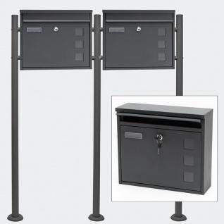 briefkasten edelstahl freistehend kaufen bei yatego. Black Bedroom Furniture Sets. Home Design Ideas