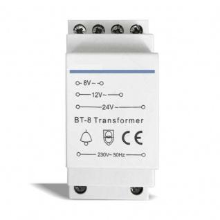 Klingeltrafo Klingeltransformator Transformator 230V zu 8V 12V 24V