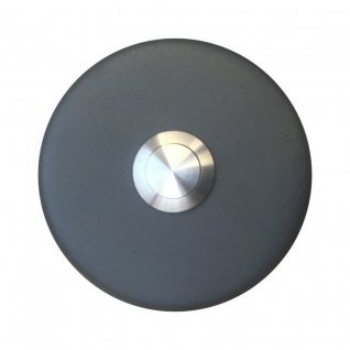 Aufputz Türklingel rund 76mm Durchmesser RAL7016 anthrazit grau - Vorschau 2