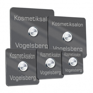 Türklingel Edelstahl DB 703 mit 35mm LED Taster
