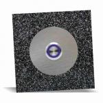 Türklingel Steinoptik 100x100mm Farbton -midnight-