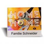 Türklingel Acrylglas 135x115mm Sweet Home Design by Zalafino