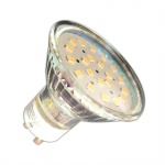 LED Strahler, Lampe, Birne GU10 -H40 SMD- 120°, 4000k, 300lm, 230V/3W, neutralweiß